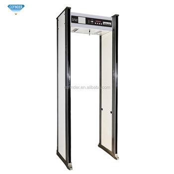 Pd1800 18 Zones Walk Through Metal Detector Walk Through Safety Gate