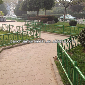 Stainless steel fence for garden using