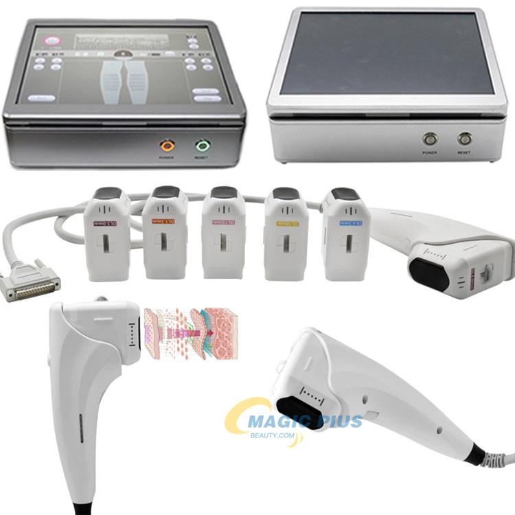 Portable Beauty Equipment Ultrasound 3D Hifu Facial Lift Machine