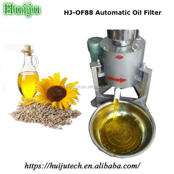 Easy To Use Cooking Oil Filter Machine For Processing Used