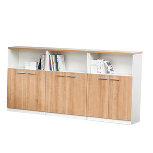 Office Furniture Wooden 3 Doors 3 Drawers Office Filling Cabinet