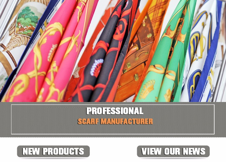Made in China Cheap Scarf Print Triangular Binder Hijab Chiffon Scarf