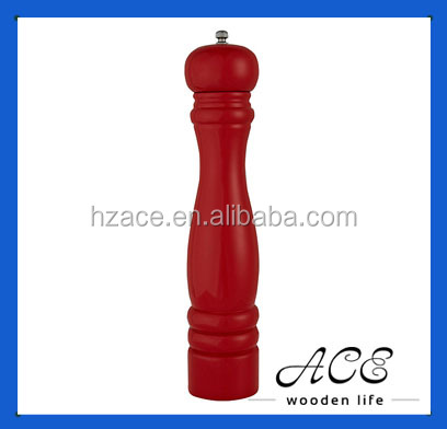 Wooden Pepper Mill Solid Wood Salt Grinder