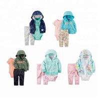 Redkite 12.5 hot sales hooded Terry little jacket set wholesale baby girl boys clothes