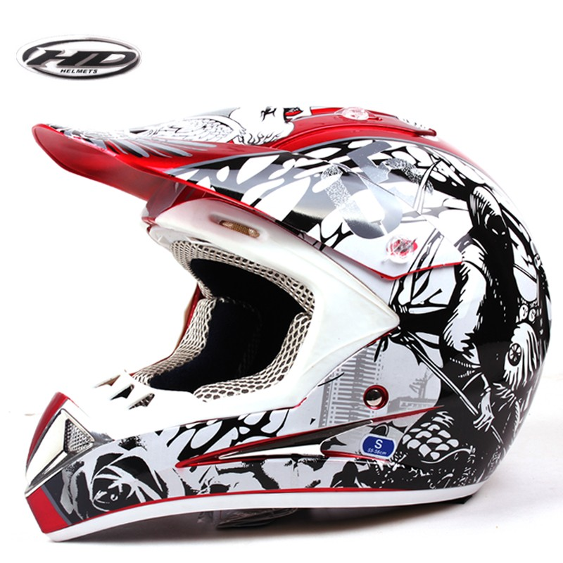 fashion graphic off road helmet/cross helmet for motorcycle HD-802