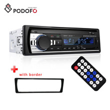 Podofo <span class=keywords><strong>Mobil</strong></span> MP3 Player <span class=keywords><strong>Stereo</strong></span> Autoradio <span class=keywords><strong>Mobil</strong></span> Radio <span class=keywords><strong>Bluetooth</strong></span> 12 V Di-dash 1 Din FM Aux Di Receiver SD USB MP3 MMC WMA JSD-520