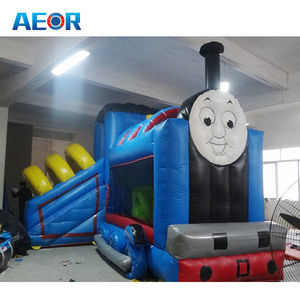 used cheap bounce houses commercial/big bouncer inflatable thomas the train