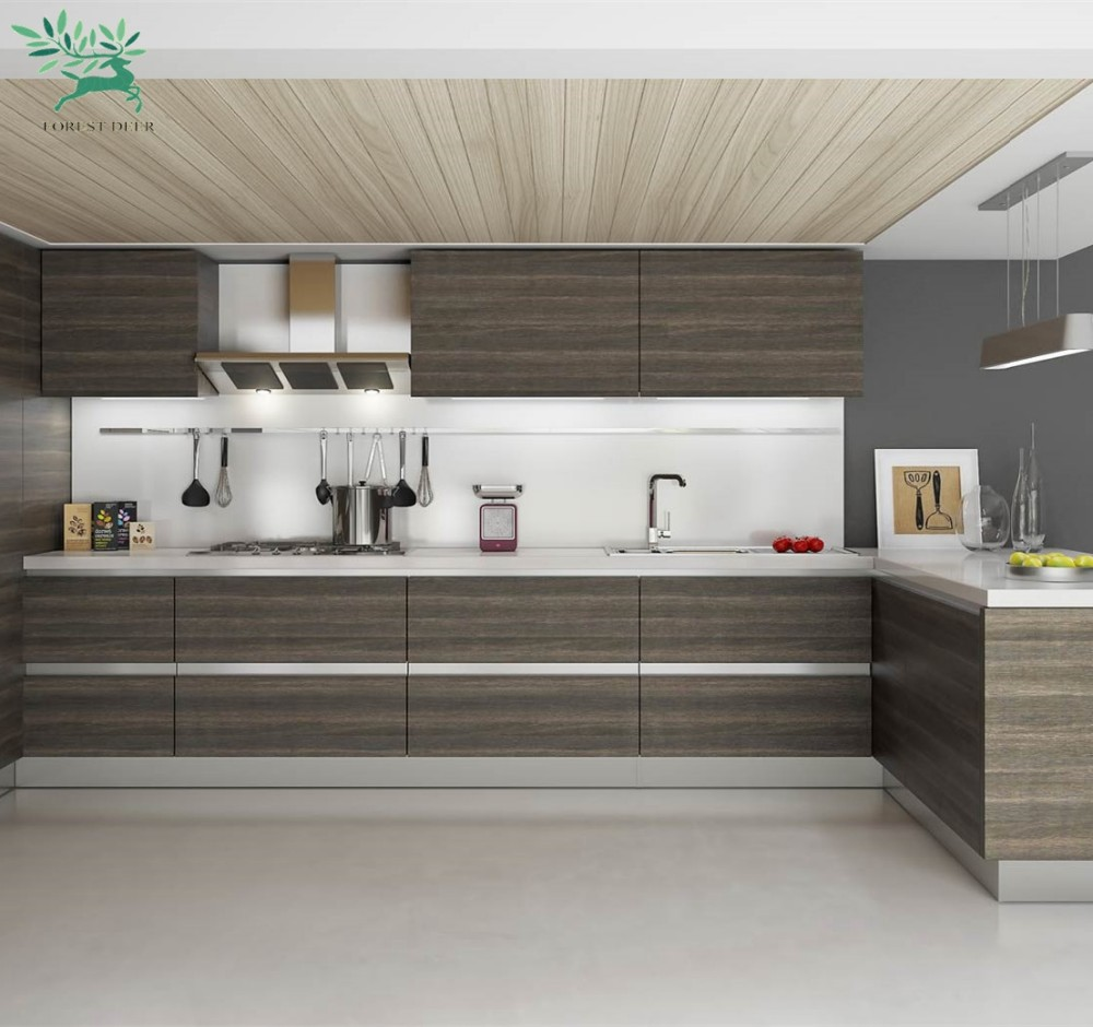 Kitchen Cabinets Used Craigslists: 2018 New Design Mdf / Pvc Kitchen Cabinets Used Kitchen