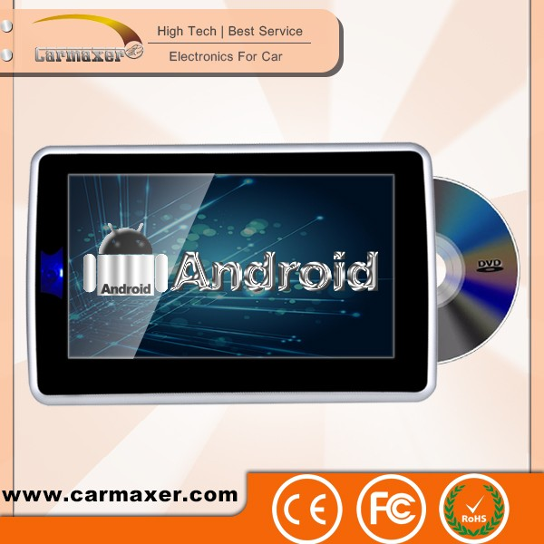 android car dvd player with reversing camera 10.1 inch car headrest dvd player