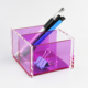 Luxurious Desk Organizer Transparent Acrylic Pencil Pen Display Box
