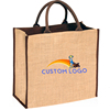 Custom natural eco friendly jute bags wholesale