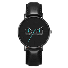 Hot Luxury Trend Design Quartz Watch Genuine Leather /Mesh Strap Watch Men