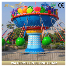 New Product Indoor Kids Amusement Rides Watermelon Flying Chair For Sale