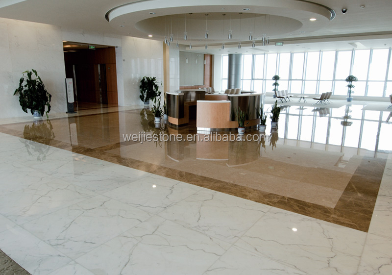 luxury white stone tile for the modern building lobby design - buy