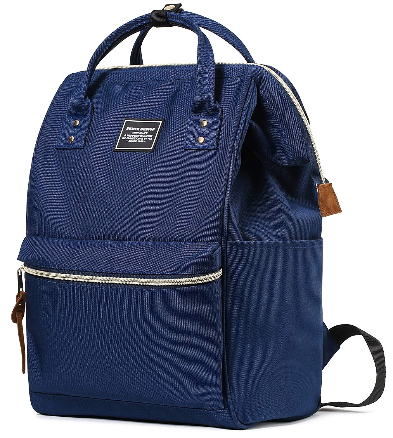 e0294a51372f Get Quotations · SEMIR 13 Inch Fashion Stylish Ladies Computer Best  Business Travel Picnic College Backpacks School Canvas Laptop