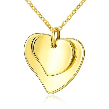 Hot heart pendant charm necklace chain jewelry gold chain pendant hot heart pendant charm necklace chain jewelry gold chain pendant designs double heart necklace aloadofball Images