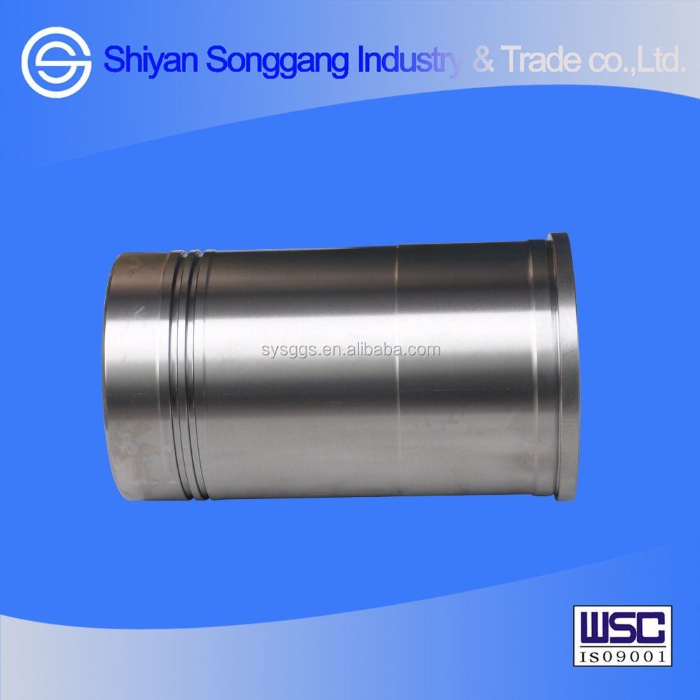 Truck engine parts cylinder sleeve for Yuchai 6108 engine