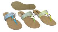 Fashion flip-flop shoes 2015 Diamonds women slipper shoes summer flat slipper