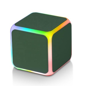 High Class Coffee Cup Cube Q Experience Block Light Up B15 Tiny Gs-009 Wm 1300 Bluetooth Motivity Speaker