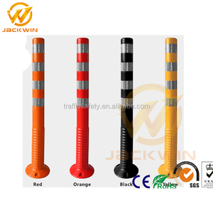Durable Lane Separator 1 Meter TPU Traffic Delineator Post