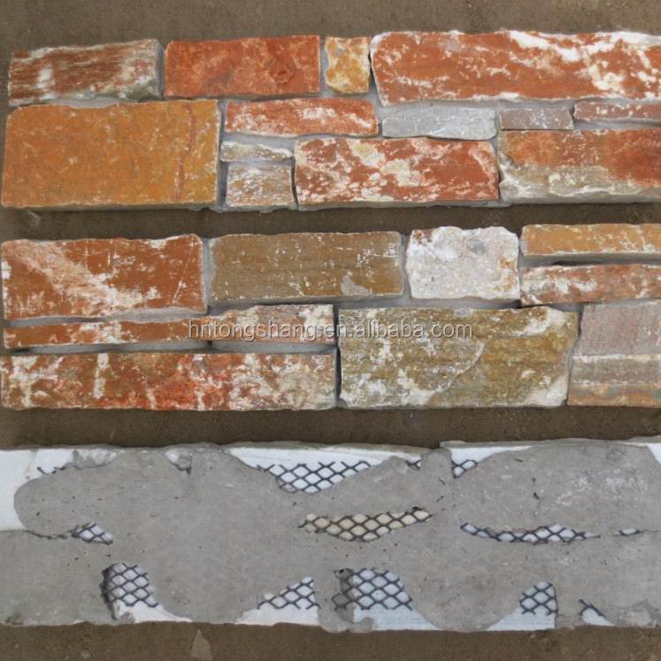 Vente Chaude Culture Pierre Revêtement Mural Extérieur