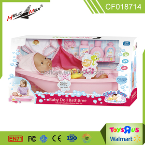 2017 New design cheap 16 inch silicone bath baby doll toys for kids
