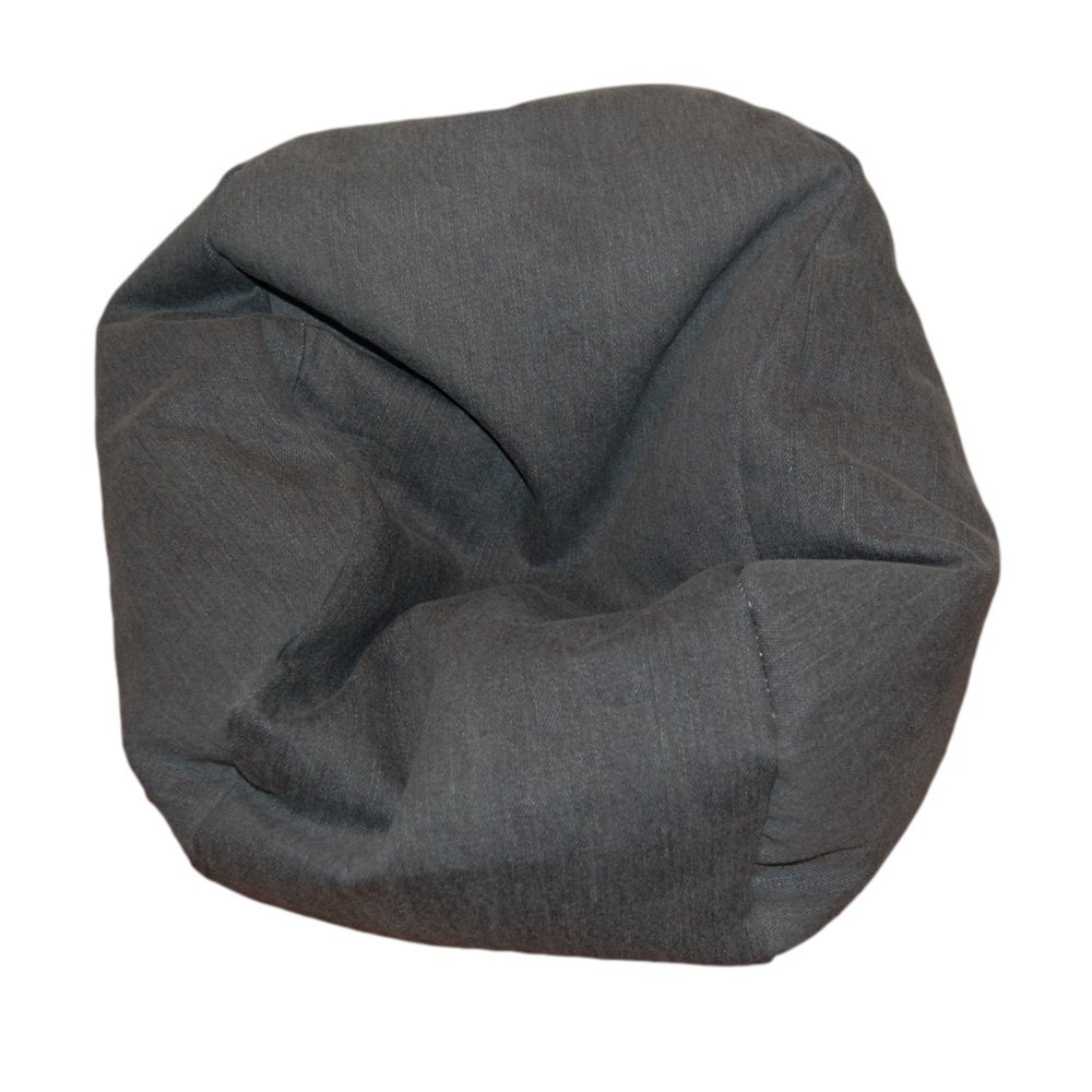 Get Quotations Ahh Products Denim Gray Bean Bag Chair For Dolls