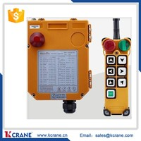 Crane Radio Remote Control F24-6S, Manufacture Companies Industrial Wireless Transmitter Receiver Controls 12v power supply