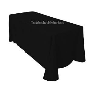 """5 Pack 90""""×156"""" Tablecloths 100% Polyester 25 Colors Wholesale Wedding Catering"""