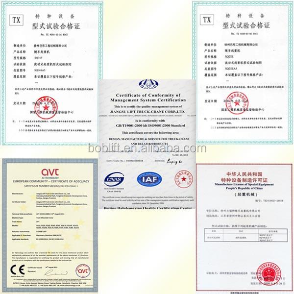 China Factory Sale Hydraulic Mobile Telescopic Boom Harga Hoist ...
