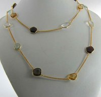 Handmade Gold Plated Necklace