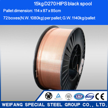 High Quality CO2 Gas-shielded Mig Welding Wire ER70S-6 for All-position Welding(manufacturer)
