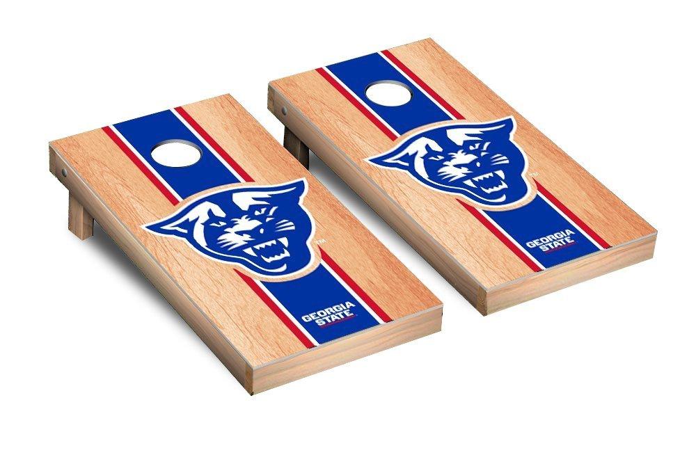 NCAA Georgia State Panthers Hardcourt Stripe Version Cornhole Game Set