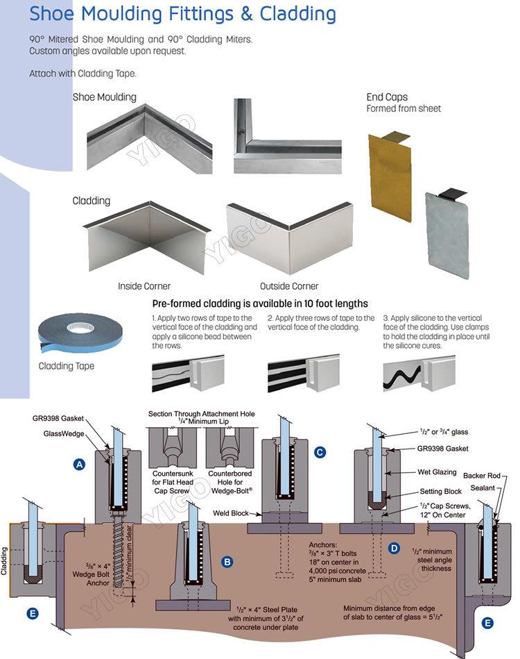 frameess glass balustrade  railings (2)