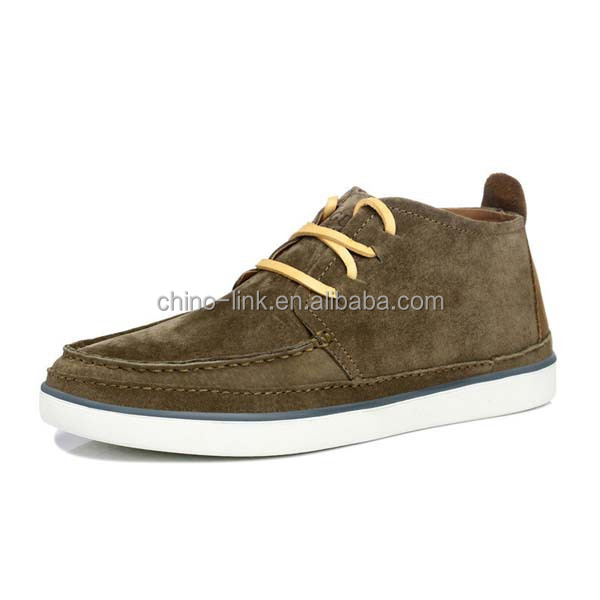 Pigskin upper 2016 leather shoe mens casual fashion shoes