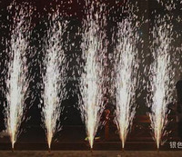 Brand new 2M30S,3M30S,4M30S stage cold fireworks with smokeless/indoor wedding ice fountain fireworks made by machine