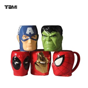 The Avengers 3D porcelain mugs