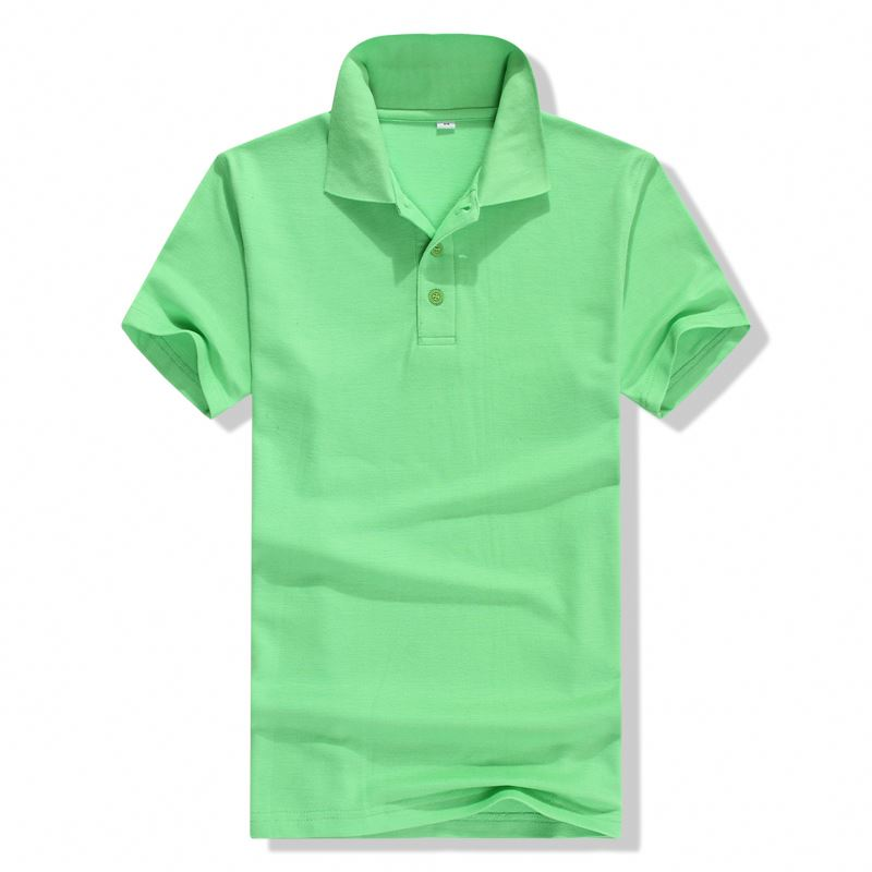 Most popular many patterns leisure 100 cotton polo shirt