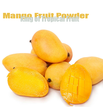 Mango Juice Concentrate Powder Mangifera indica Linn Mango Fruit Powder