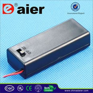 Daier dual battery box for rv