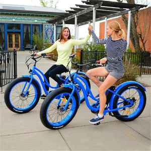 2018 26inch fat tire electric bike/Electric bicSEB-506 from china factoryycle for lady R