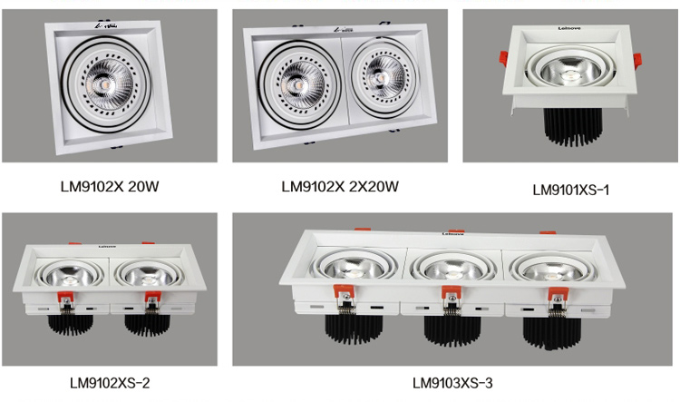 Leimove recessed dimmable led downlights custom made for customization-4