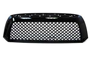 07-09 Toyota Tundra Black Mesh Sporty Badgeless Grille OEM Replacement Grill 08