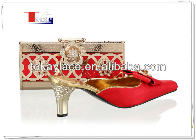shoes Italy Red and bags Fashion Matching qxR7wP6