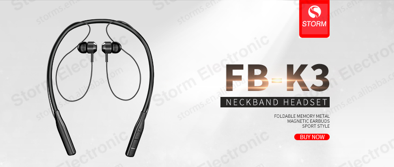 Neckband V5.0 wireless Stereo In-Ear Headphones Sports mobile earphone blotooth Earbuds headset for phone ear bud