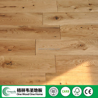 Leading company finished/unfinished solid white oak hardwood flooring