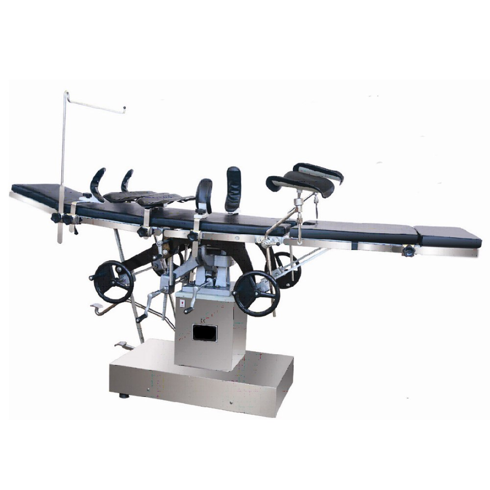 Multifunction electric hydraulic rotating operating table