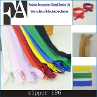 #3 Nylon Invisible Zippers For DIY Sewing Back/Dress/Cushion Tailoring Accessories Mixed Colors