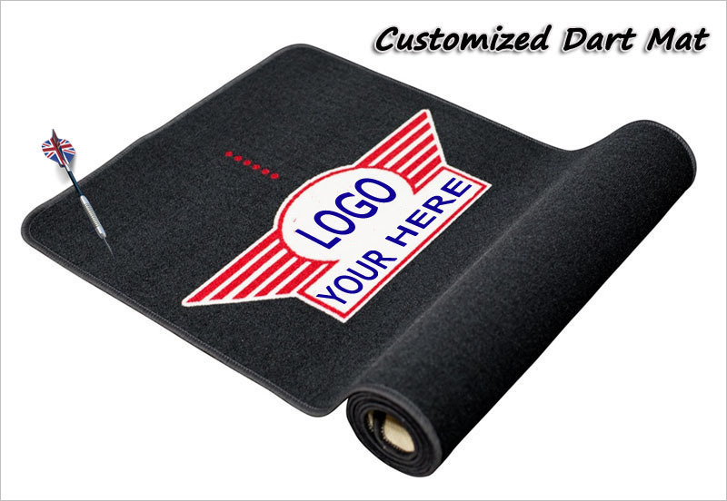 Custom Design Dart Carpet For Protection Of Darts And