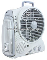 SUNCA AC/DC Rechargeable Oscillating Fan 8